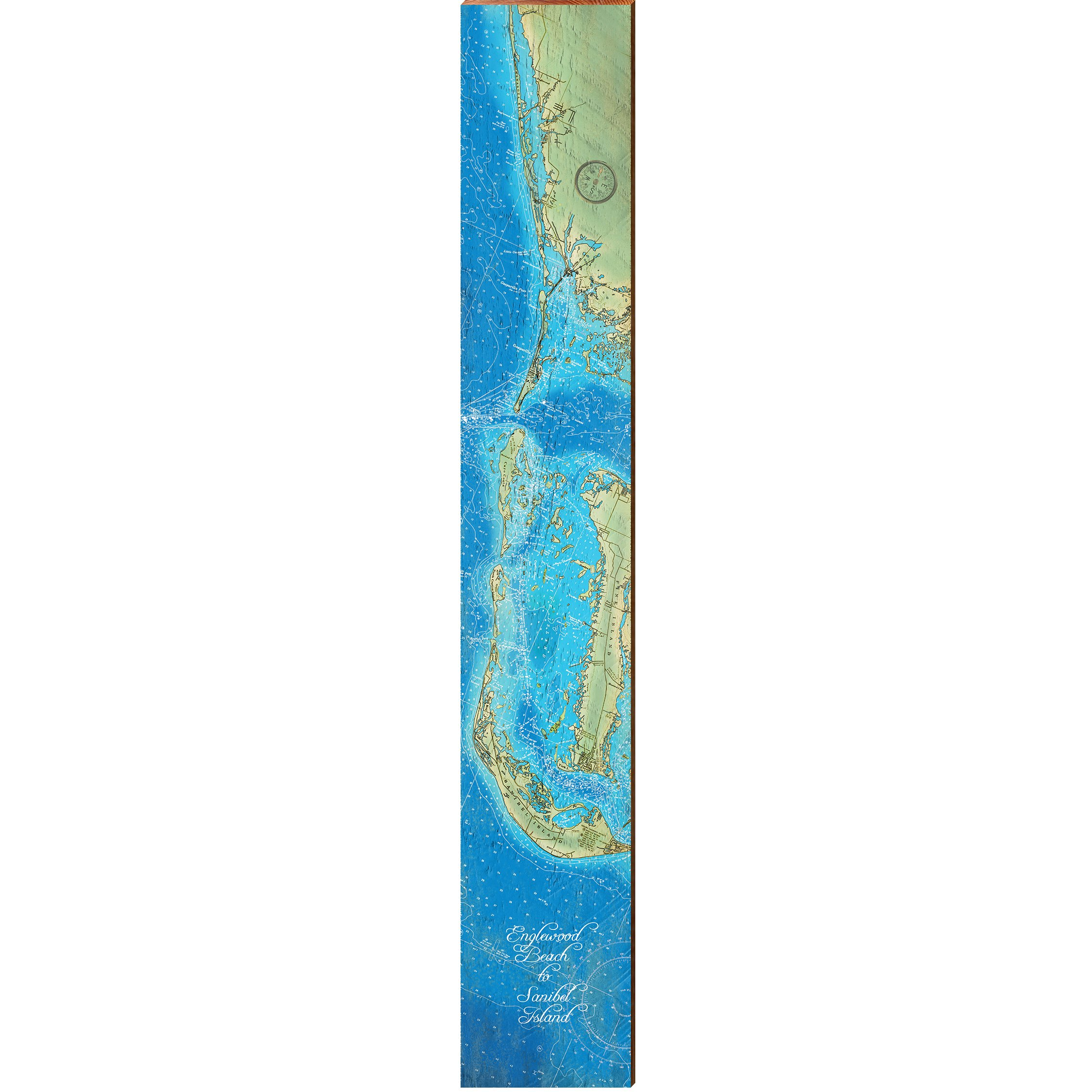 Boutsy > Mill Wood Art > MILL WOOD ART Englewood Beach to ...
